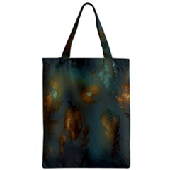 Broken Pieces Zipper Classic Tote Bags