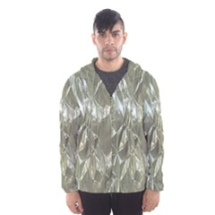 Crumpled Foil Hooded Wind Breaker (Men)