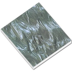 Crumpled Foil Blue Small Memo Pads