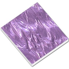 Crumpled Foil Lilac Small Memo Pads