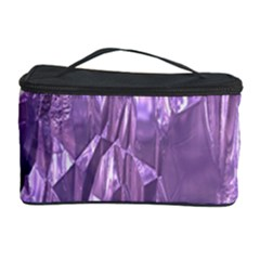 Crumpled Foil Lilac Cosmetic Storage Cases