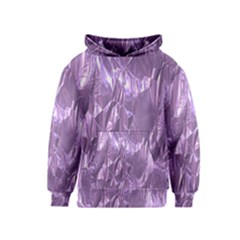 Crumpled Foil Lilac Kid s Pullover Hoodies