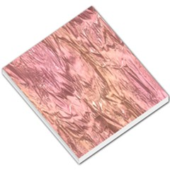 Crumpled Foil Pink Small Memo Pads