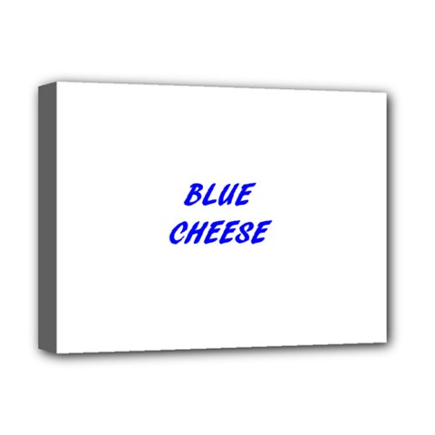 Blue Cheese Deluxe Canvas 16  x 12