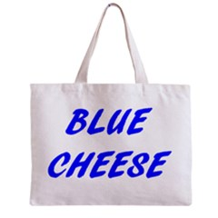Blue Cheese Zipper Tiny Tote Bags
