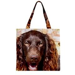 Boykin Spaniel Zipper Grocery Tote Bags