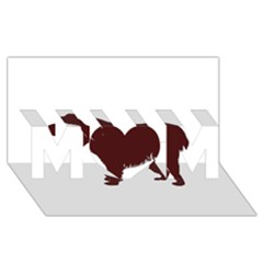 Boykin Spaniel MOM 3D Greeting Card (8x4)