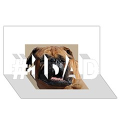 Bullmastiff #1 DAD 3D Greeting Card (8x4)