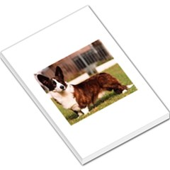 Cardigan Welsh Corgi Full Large Memo Pads