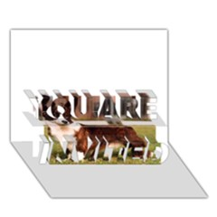 Cardigan Welsh Corgi Full YOU ARE INVITED 3D Greeting Card (7x5)