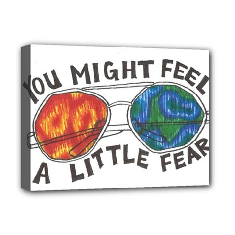 Little fear Deluxe Canvas 16  x 12