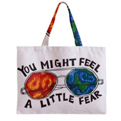 Little fear Zipper Tiny Tote Bags