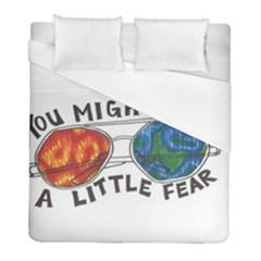 Little Fear Duvet Cover Single Side (twin Size)