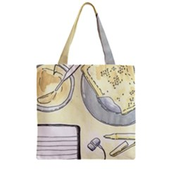 Tearespite Zipper Grocery Tote Bags