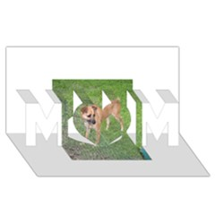 Carolina Dog Full 2 MOM 3D Greeting Card (8x4)