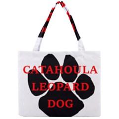 Catahoula Name Paw Tiny Tote Bags
