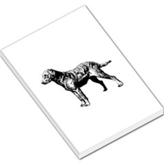 Chesapeake Bay Retriever Drawing Large Memo Pads