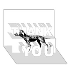 Chesapeake Bay Retriever Drawing THANK YOU 3D Greeting Card (7x5)