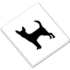 Chihuahua Silhouette Small Memo Pads