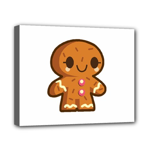 Gingerman Canvas 10  x 8