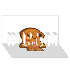 Gingerman #1 MOM 3D Greeting Cards (8x4)