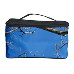 Leafless Tree Branches Against Blue Sky Cosmetic Storage Cases