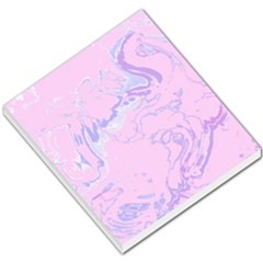 Unique Marbled 2 Baby Pink Small Memo Pads