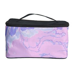 Unique Marbled 2 Baby Pink Cosmetic Storage Cases
