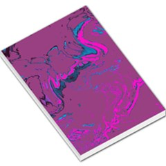 Unique Marbled 2 Hot Pink Large Memo Pads