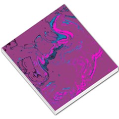 Unique Marbled 2 Hot Pink Small Memo Pads