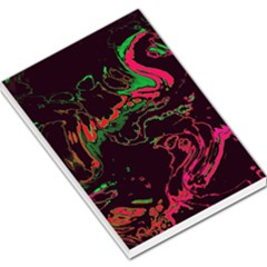 Unique Marbled 2 Tropic Large Memo Pads