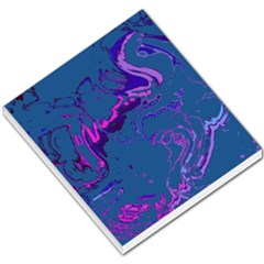 Unique Marbled 2 Blue Small Memo Pads