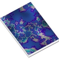 Unique Marbled Blue Large Memo Pads