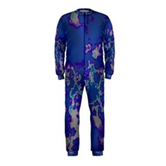Unique Marbled Blue Onepiece Jumpsuit (kids)