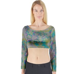 Long Sleeve Crop Top (Tight Fit)
