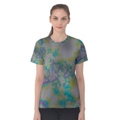 Unique Marbled Candy Women s Cotton Tees