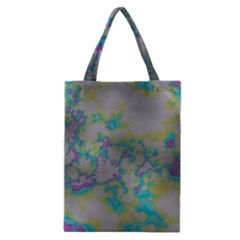 Unique Marbled Candy Classic Tote Bags