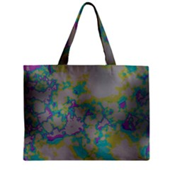 Unique Marbled Candy Zipper Tiny Tote Bags