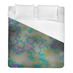Unique Marbled Candy Duvet Cover Single Side (twin Size)