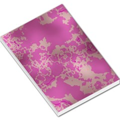 Unique Marbled Pink Large Memo Pads