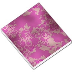 Unique Marbled Pink Small Memo Pads