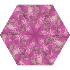 Unique Marbled Pink Mini Folding Umbrellas