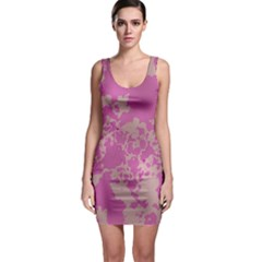 Unique Marbled Pink Bodycon Dresses