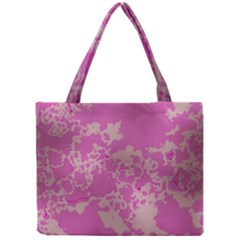 Unique Marbled Pink Tiny Tote Bags