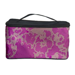 Unique Marbled Pink Cosmetic Storage Cases