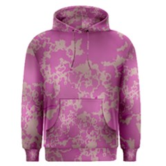 Unique Marbled Pink Men s Pullover Hoodies