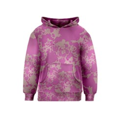 Unique Marbled Pink Kid s Pullover Hoodies