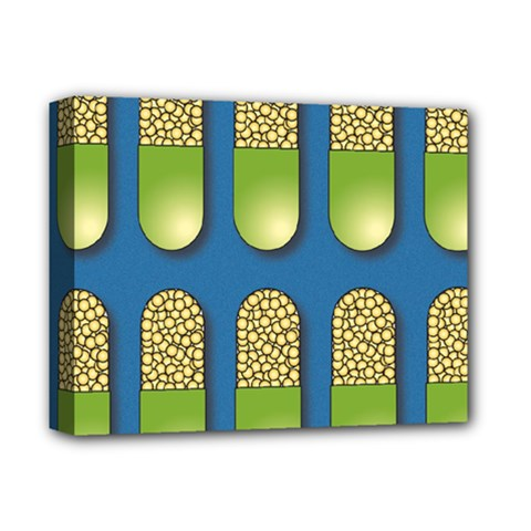 Capsule Pattern Deluxe Canvas 14  x 11