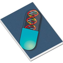 Dna Capsule Large Memo Pads