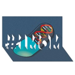 Dna Capsule #1 MOM 3D Greeting Cards (8x4)